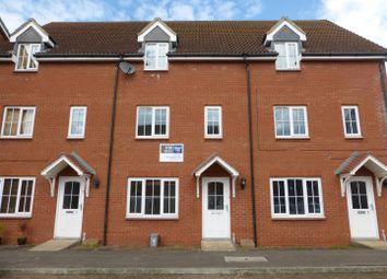 Thumbnail 3 bedroom town house for sale in Applewood Drive, Hampton Hargate, Peterborough