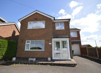 Thumbnail 4 bed detached house for sale in Park Road, Newhall, Swadlincote, Derbyshire