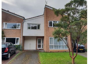 Thumbnail 4 bed terraced house for sale in Warwick Hall Gardens, Bromsgrove