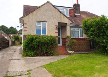 Thumbnail 3 bed bungalow to rent in Vale Avenue, Findon Valley, Worthing