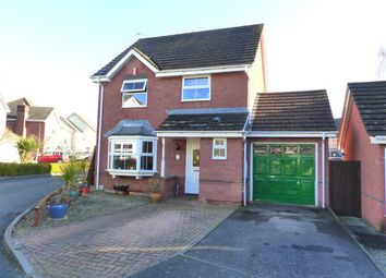 Thumbnail 3 bed detached house for sale in Cadoc Close, Caerwent, Caldicot