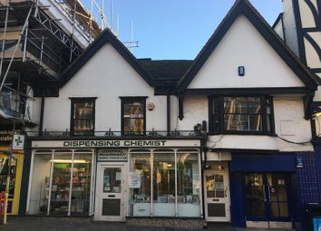 Thumbnail Retail premises for sale in High Street, Maidstone, Kent