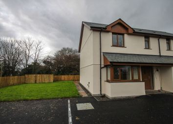 Thumbnail 3 bedroom semi-detached house to rent in Exeter Road, Winkleigh