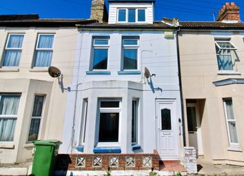 Thumbnail 3 bed terraced house for sale in Albion Road, Folkestone
