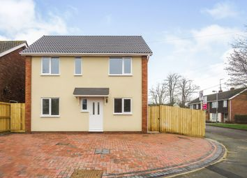 Thumbnail 4 bedroom detached house for sale in Hungerford Road, Calne