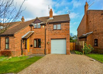 Thumbnail 3 bed detached house for sale in 2 Danes Court, Riccall, York
