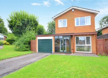 Thumbnail 3 bed detached house for sale in Coppice Close, Stratford-Upon-Avon