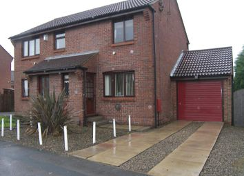 Thumbnail 2 bed semi-detached house to rent in Grantley Drive, Harrogate