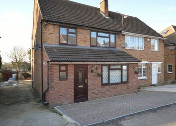 Thumbnail 3 bed semi-detached house to rent in Grampian Way, Luton