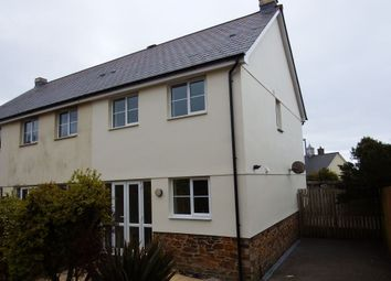 Thumbnail 3 bed property to rent in Carwollen Road, St. Austell