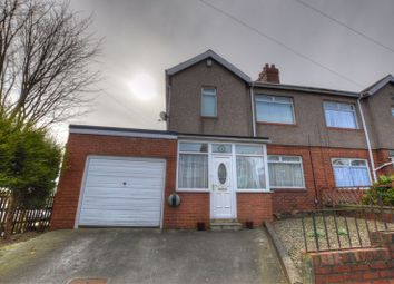 Thumbnail 3 bedroom semi-detached house for sale in Bruce Gardens, Newcastle Upon Tyne