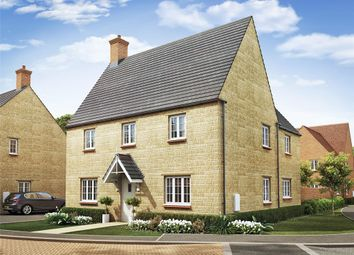 "Thumbnail 4 bed detached house for sale in ""The Ludlow"" at Ashton Road, Roade, Northampton"