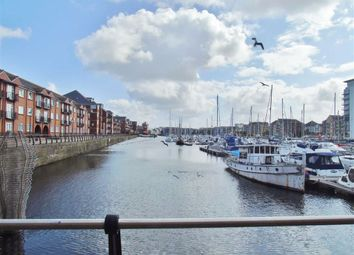 Thumbnail 1 bed flat for sale in Arethusa Quay, Maritime Quarter, Swansea