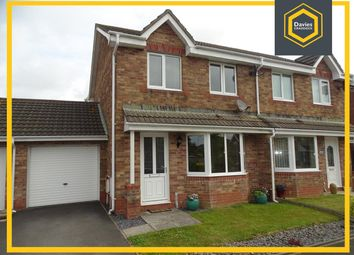 Thumbnail 3 bed semi-detached house for sale in Sandpiper Road, Llanelli