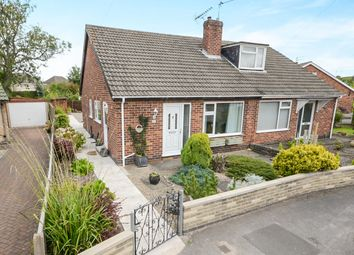 Thumbnail 2 bedroom semi-detached bungalow for sale in Carmires Avenue, Haxby, York