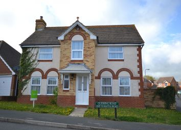 Thumbnail 4 bed property to rent in Glessing Road, Stone Cross, Eastbourne