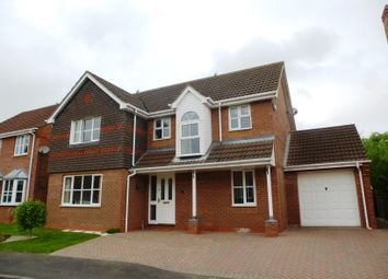 Thumbnail 4 bed detached house to rent in Manor Close, Cranwell Village, Sleaford