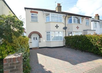 Thumbnail 3 bed semi-detached house for sale in Carmalt Gardens, Burwood Park, Hersham, Walton-On-Thames
