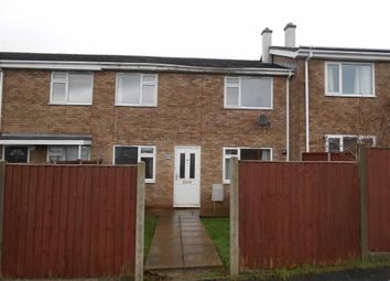 Thumbnail 2 bed terraced house to rent in Withies Close, Hereford, Herefordshire