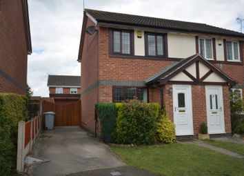 Thumbnail 2 bed semi-detached house to rent in Kestrel Drive, Crewe