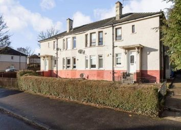 Thumbnail 3 bed flat for sale in Lochiel Road, Thornliebank, Glasgow, Lanarkshire