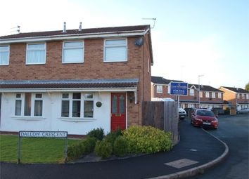 Thumbnail 2 bedroom semi-detached house for sale in Dallow Crescent, Burton-On-Trent, Staffordshire