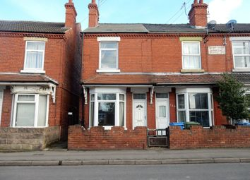 2 bed end terrace house for sale in Netherton Road, Worksop, Notts S80