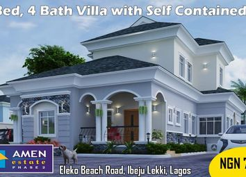Thumbnail 4 bed detached house for sale in Emerald Bay Estate, Eleko Beach Road, Ajah, Ibeju Lekki, Lagos