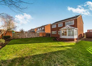 Thumbnail 4 bed detached house for sale in Grange View, Wolviston, Billingham