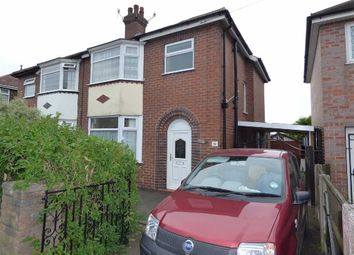 Thumbnail 3 bedroom semi-detached house for sale in Cloverdale Road, Cross Heath, Newcastle-Under-Lyme