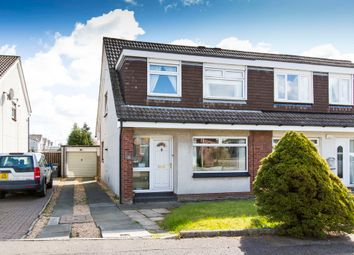Thumbnail 3 bed semi-detached house for sale in Claddens Place, Lenzie, Kirkintilloch, Glasgow