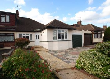 Thumbnail 3 bed semi-detached bungalow for sale in Worcester Avenue, Upminster