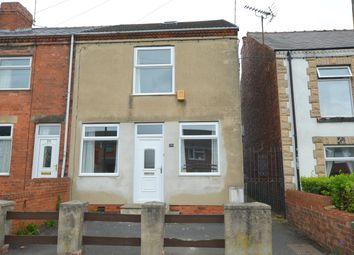 Thumbnail 3 bedroom end terrace house for sale in Chesterfield Road, North Wingfield, Chesterfield