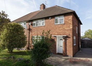 Thumbnail 3 bed semi-detached house for sale in Yew Tree Road, Ollerton, Newark