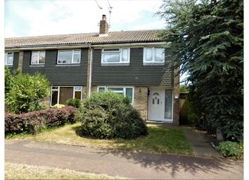 Thumbnail 3 bed end terrace house for sale in Eagle Way, Southend-On-Sea