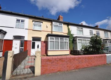 Thumbnail 4 bed terraced house for sale in Belvidere Road, Wallasey