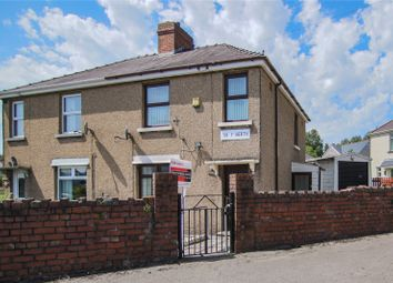 Thumbnail 3 bed semi-detached house for sale in Tir-Y-Berth, Ebbw Vale, Blaenau Gwent
