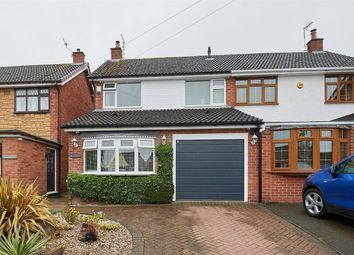 Thumbnail 3 bed semi-detached house for sale in Milton Close, Hinckley