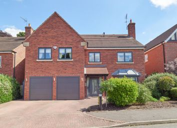 Thumbnail 5 bed detached house for sale in Harding Grove, Stone, Staffordshire