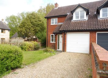 Thumbnail 3 bedroom property to rent in The Chestnuts, Rickinghall, Diss