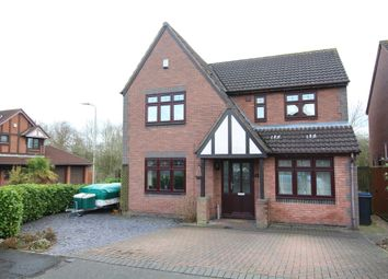 Thumbnail 4 bed detached house for sale in Westminster Drive, Burbage, Hinckley