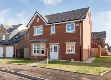 Thumbnail 4 bed detached house for sale in Dunlop Crescent, Glasgow, Lanarkshire