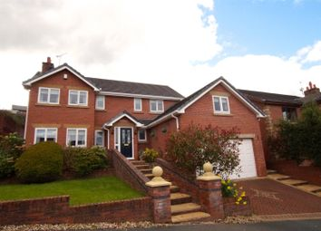 Thumbnail 5 bed detached house for sale in Oak Alyn Court, Cefn-Y-Bedd, Wrexham