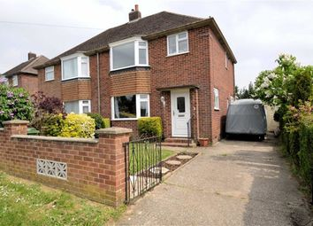 Thumbnail 3 bedroom semi-detached house for sale in Regnum Drive, Shaw, Newbury, Berkshire