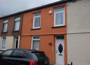 Thumbnail 2 bed terraced house to rent in Volunteer Street, Pentre