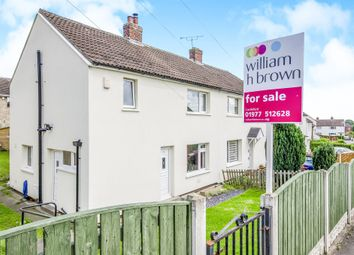 Thumbnail 3 bed semi-detached house for sale in The Drive, Kippax, Leeds