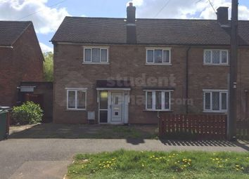 Thumbnail 4 bed end terrace house to rent in Blackbrook Road, Loughborough, Leicestershire