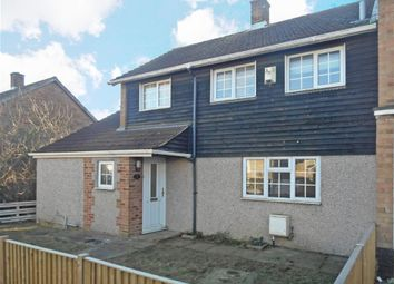 Thumbnail 3 bed end terrace house for sale in The Hedgerow, Basildon, Essex