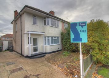 Thumbnail 3 bed semi-detached house for sale in Collier Row Road, Collier Row, Romford