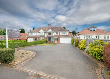 Thumbnail 4 bed semi-detached house for sale in Norton Lane, Tidbury Green, Solihull